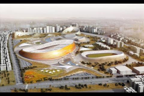 Addis Ababa stadium - LAVA